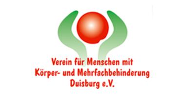 Logo vom Verein für Menschen mit Körper- und Mehrfachbehinderungen Duisburg e.V.
